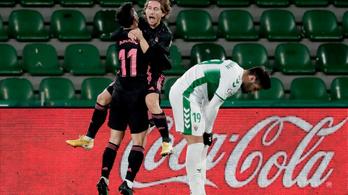 Modric úgy szerzett gólt a Realban, mint azelőtt soha