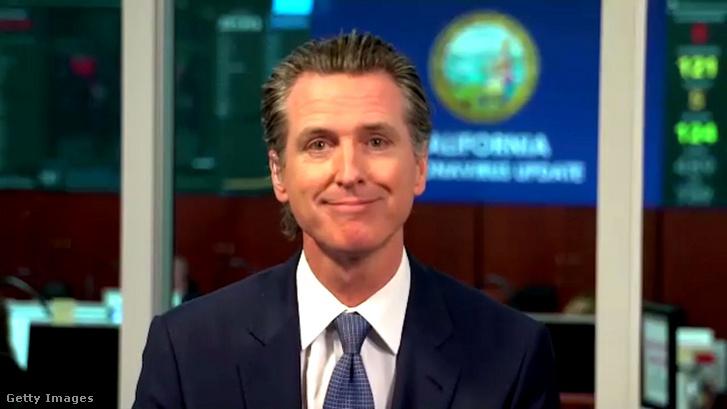 Gavin Newsom, Kalifornia állam kormányzója.