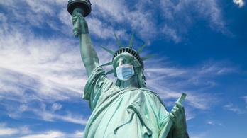 Tragikus rekordokat dönt Amerikában a koronavírus