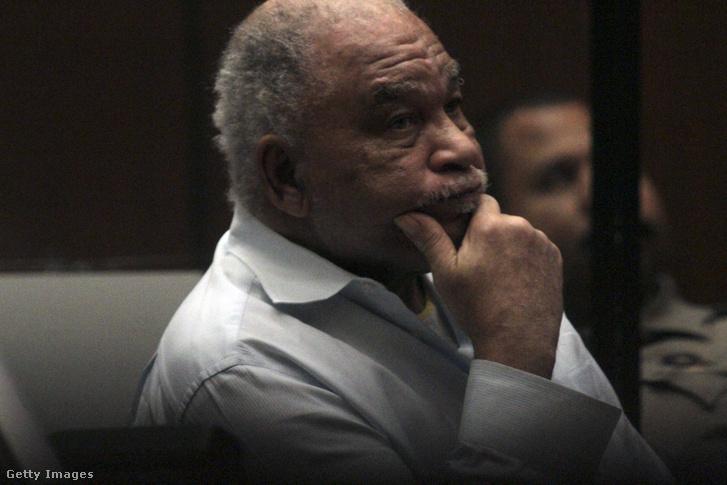 Samuel Little első tárgyalásán 2014. augusztus 18-án.