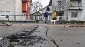 Több mint 100 milliós kárt okoztak Magyarországon a horvát földrengések