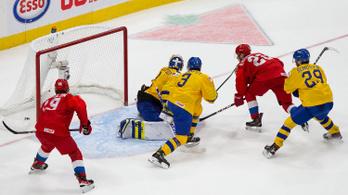 54 meccsnél ért véget a svéd válogatott győzelmi sorozata