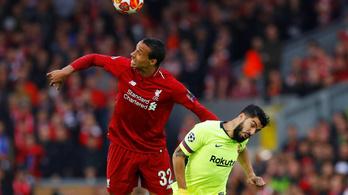 Kiderült, mennyit kell kihagynia a Liverpool védőjének