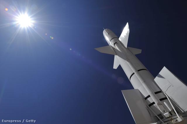 TALOS típusú nukláris rakéte a White Sands Rakétamúzeumban, Kaliforniában