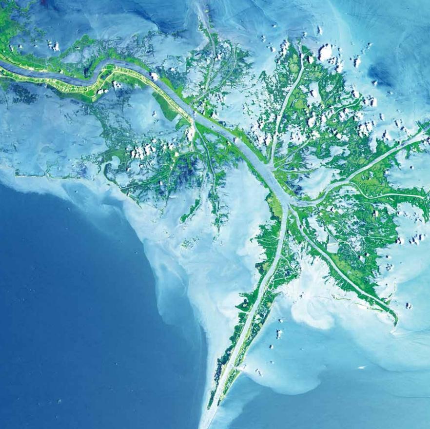 A Mississsippi deltája, Egyesült Államok