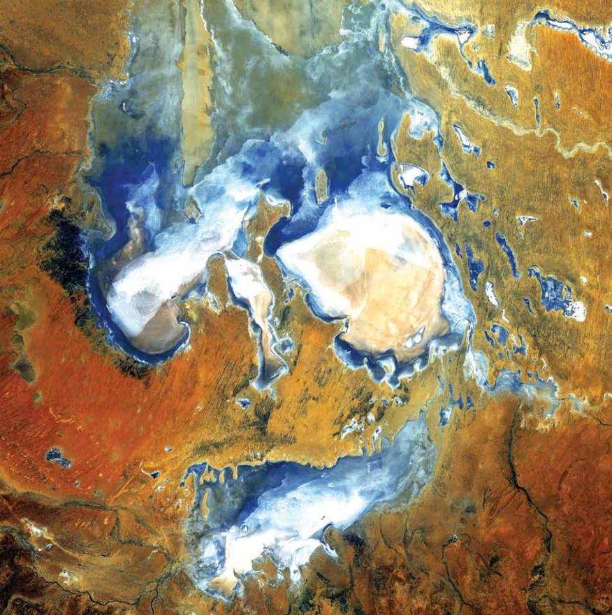Eyre-tó, Ausztrália