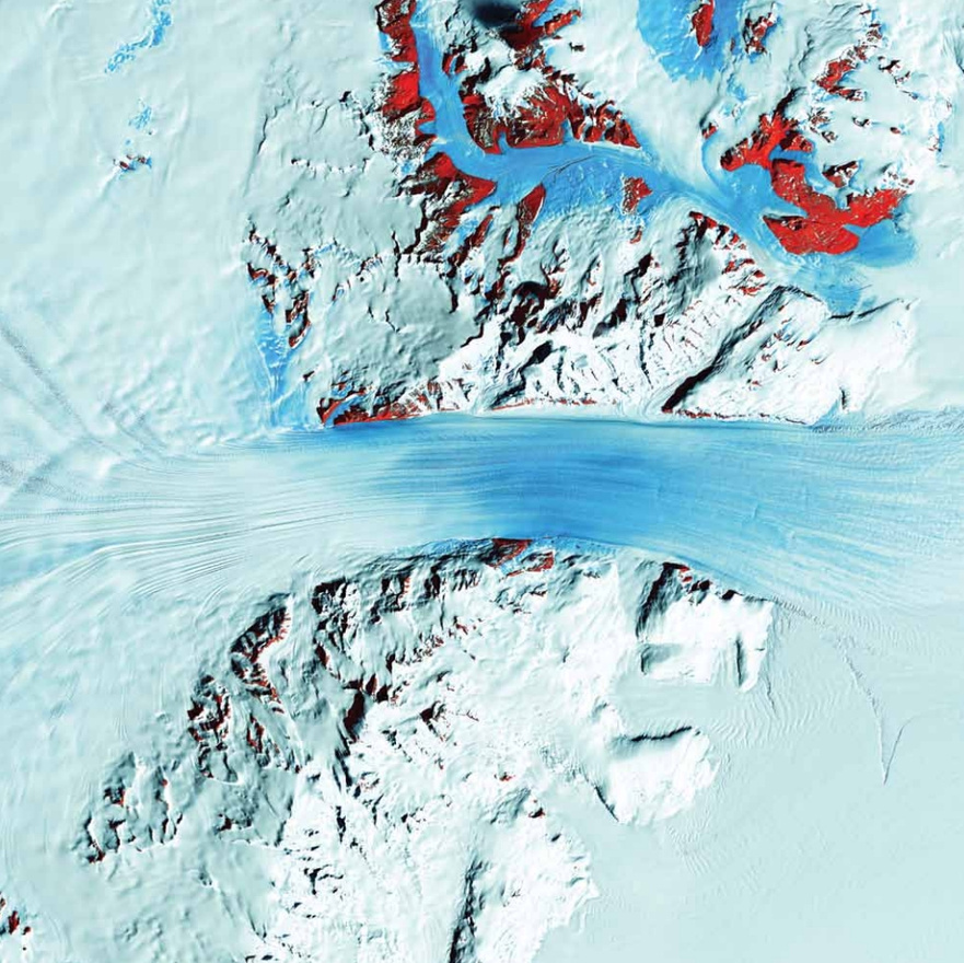 Byrd-gleccser, Antarktisz