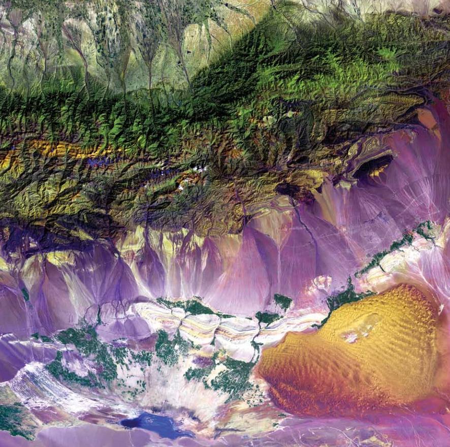 Bogda-hegység, Kína