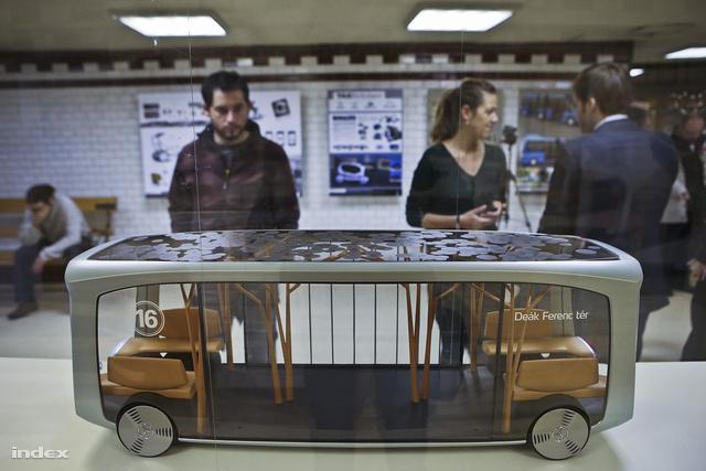 Mercedes Ivy buszkoncepció, Húnfalvy András az EvoBus Designnál készített terve.