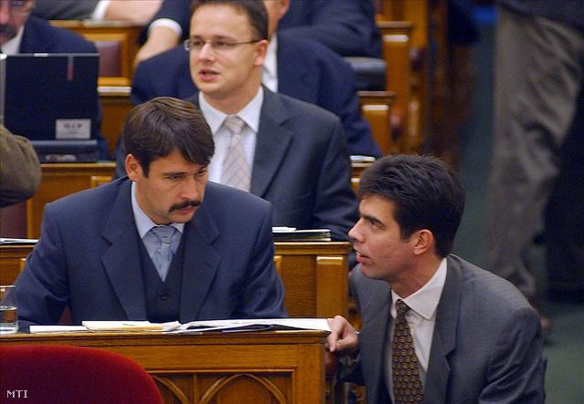 Gyürk és Áder tavaly a parlamentben