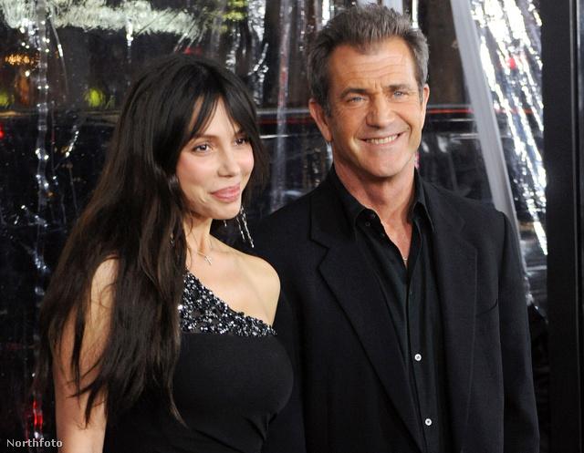 Okszana Grigorjeva és Mel Gibson