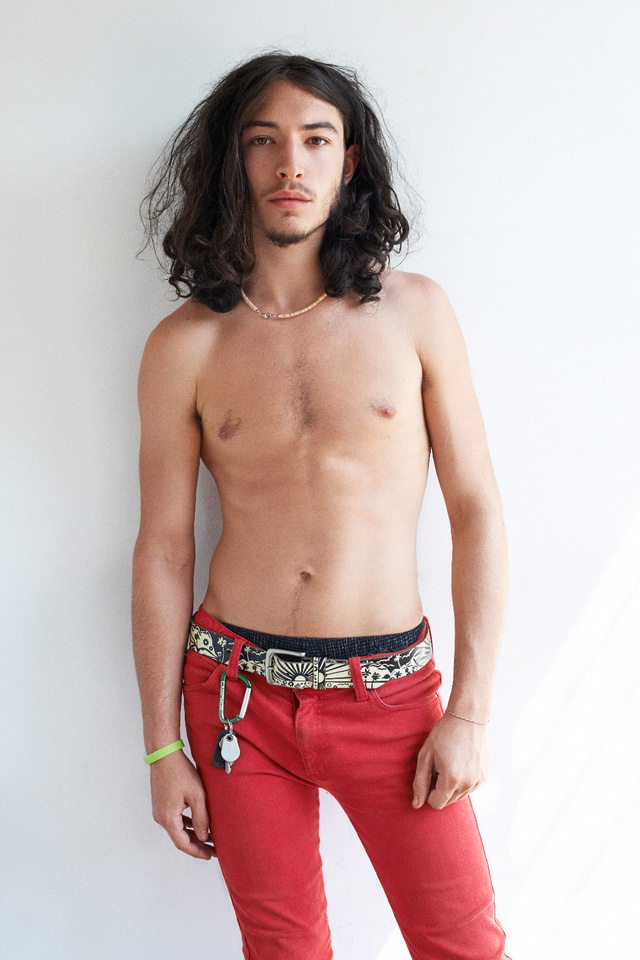 Ezra Miller Terry Richardsonnál