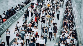 A brit vírusmutáció eljutott Kínába