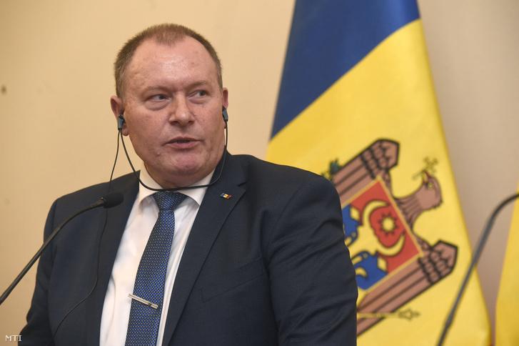 Aureliu Ciocoi, moldovai kül- és európai integráció-ügyi miniszter