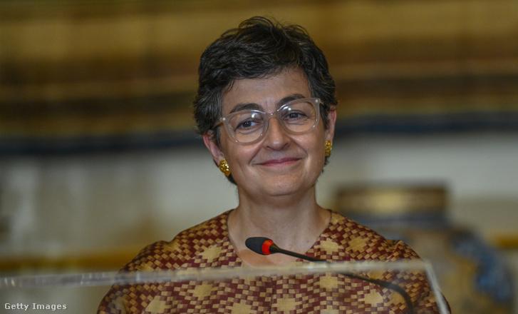Arancha González Laya spanyol külügyminiszter