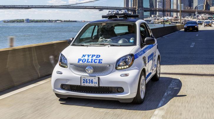 A NYPD 250 darab Smartot vásárolt néhány éve
