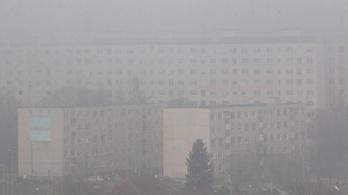 Egészségtelen a levegő több városban is
