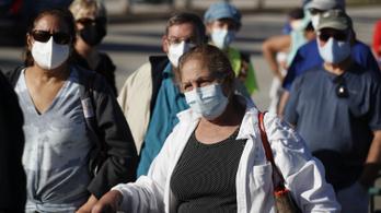 Több mint 20 millió ember kapta el a vírust az Egyesült Államokban