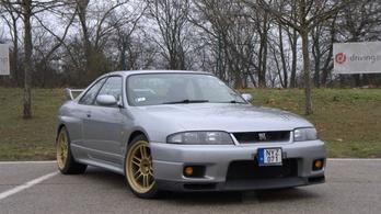 Teszt: Nissan Skyline GT-R (r33) - 1996.
