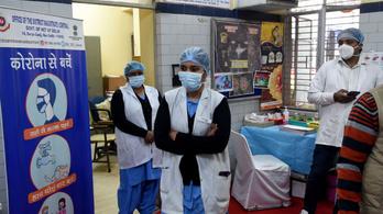 India is engedélyezte az AstraZeneca vakcináját