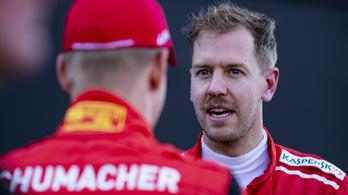 Vettel: Schumacher a valaha volt legjobb, megpróbálom felkarolni a fiát