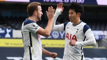 A Tottenhamé a Premier League legjobb párosa