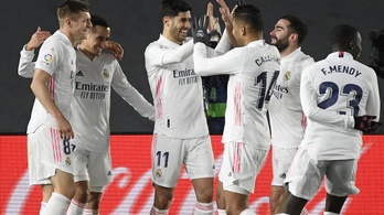 Váratlan rekord és győzelem a Real Madridtól