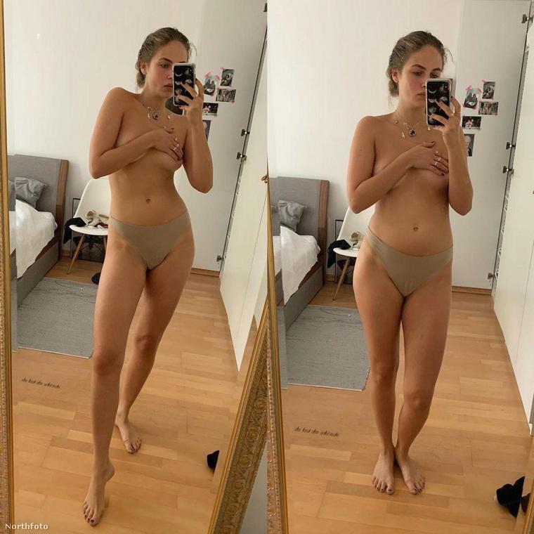Elena Carrière modell ismét tudatosította a rá figyelőkben, hogy egészen sokféle testalkatúnak tud tűnni egyszerre ugyanaz az ember.
