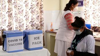 Indiában is indul az oltás