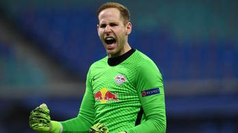 Az RB Leipzig edzője Gulácsi Pétert dicsérte