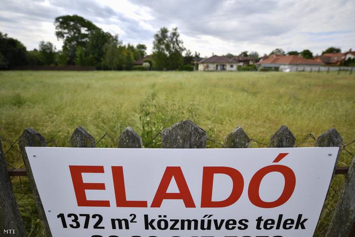 Eladó építési telek Debrecen Pallag városrészében 2017. május 25-én