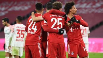 Kétgólos hátrányból fordított a Bayern München