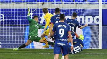 Egy gól is elég volt a Barcelonának a győzelemhez