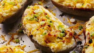 Ez a gyors töltött krumpli segít, ha egy kicsit kevesebb húst ennél