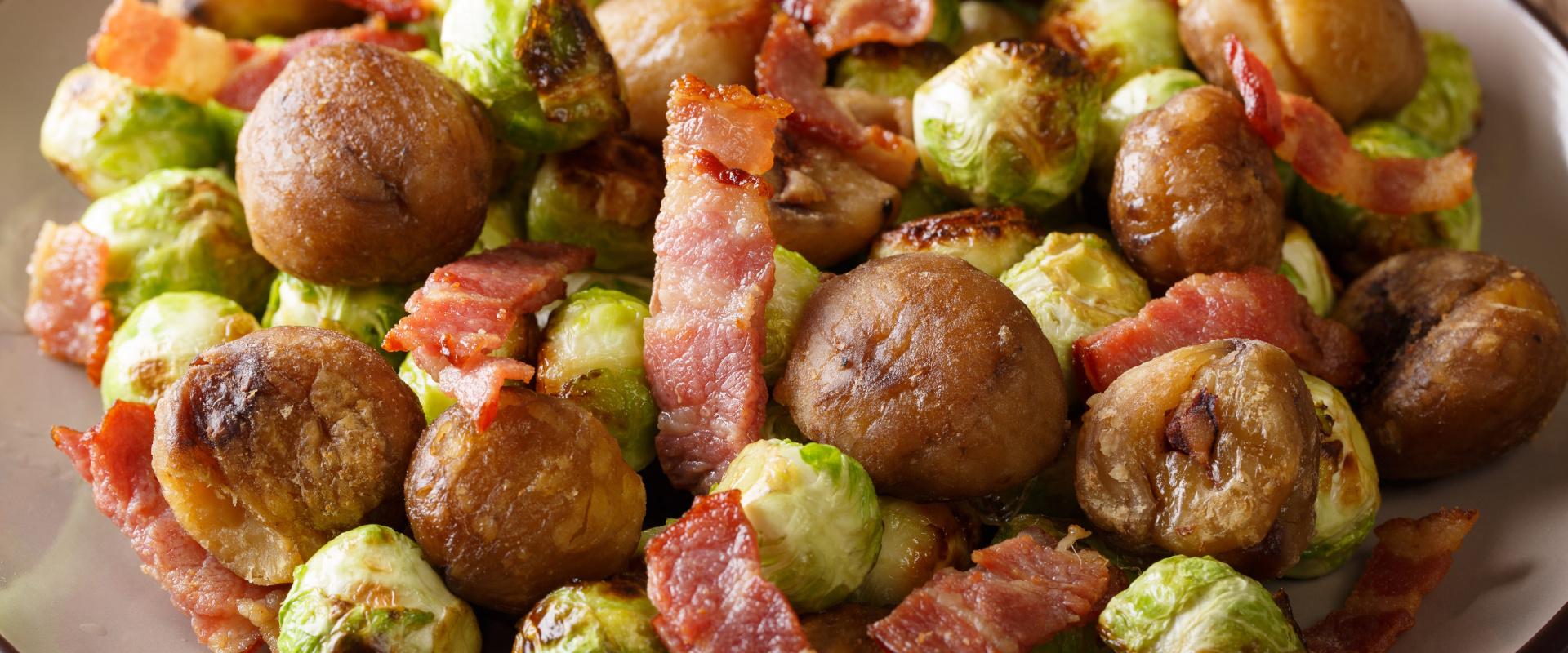 gesztenyével sült kelbimbó baconnel cover ok