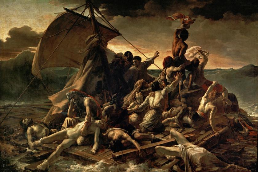 Théodore Géricault: Medúza tutaja, 1818-1819.