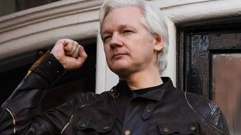 Nem adják ki a britek Amerikának Julian Assange-t