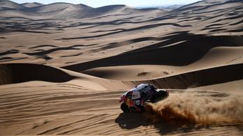 Nasszer al-Attijah nyerte a Dakar-rali második szakaszát