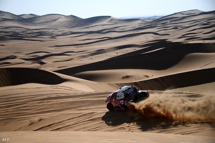 Nasszer al-Attijah volt hétfőn a leggyorsabb autós