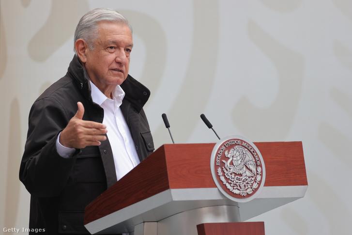 Lopez Obrador mexikói elnök.