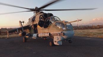 Szándékos emberölésként vizsgálják az azeriek által lelőtt orosz helikopter ügyét