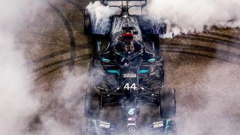Ha Hamilton húzza az időt, szakíthat vele a Mercedes