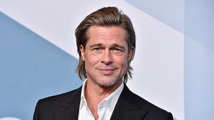 Brad Pitt augusztus óta nem találkozott a barátnőjével, akivel tulajdonképp soha nem is járt