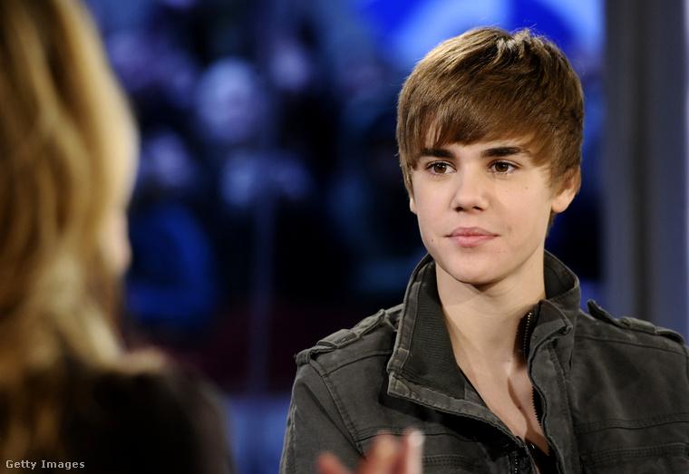 A fotó 2009-ben készült az énekesről, amikor a NBC News' Today show vendége volt.