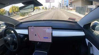 Gond nélkül tett meg 560 kilométert egy Teljesen Önvezető Model 3