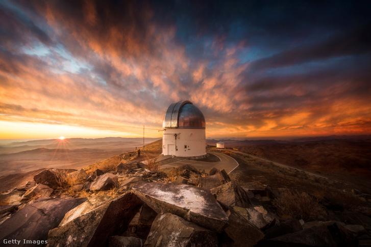 Az Atacama csillagvizsgáló Chilében.