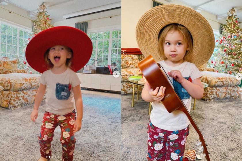 A cserfes Rani a kalapok nagy rajongója.