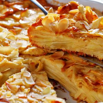 Álomfinom, francia almás sütemény – Alig van benne tészta