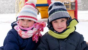 Ezért fontos, hogy télen is menjetek játszótérre a gyerekkel
