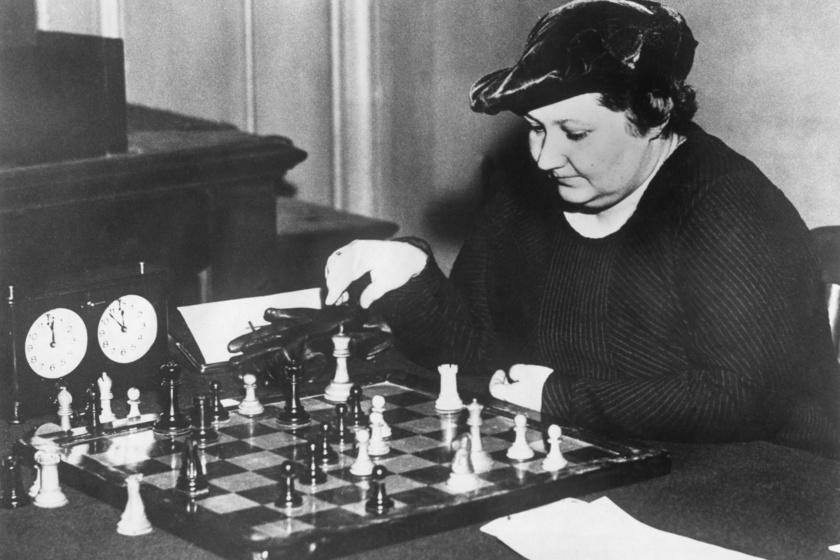 Vera Menchik 1937-ben.